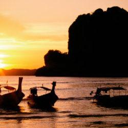 sun setting captured