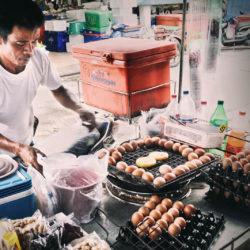 street food in progress