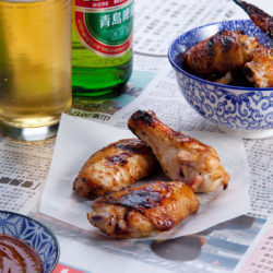 Asian Fried Chicken and Beer Image - Editorial Photography Sydney