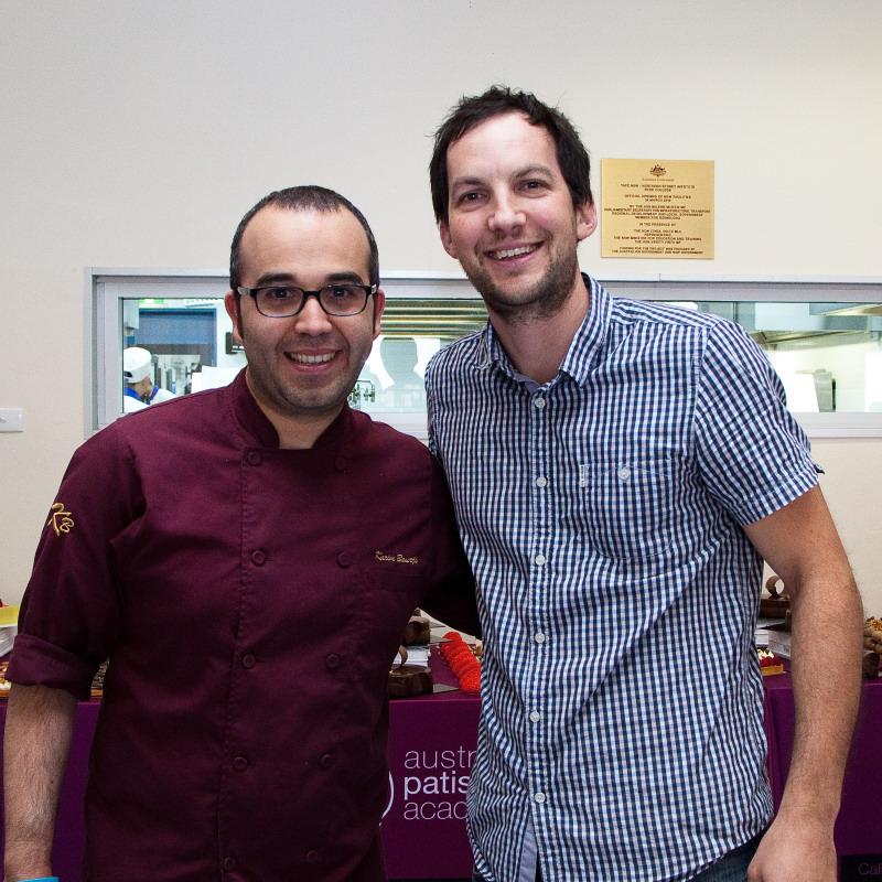Adrian & Pattissie Chef Karim Bourgi