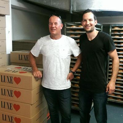 Adrian & Justin Chapman - Luxe-Bakery Shoot