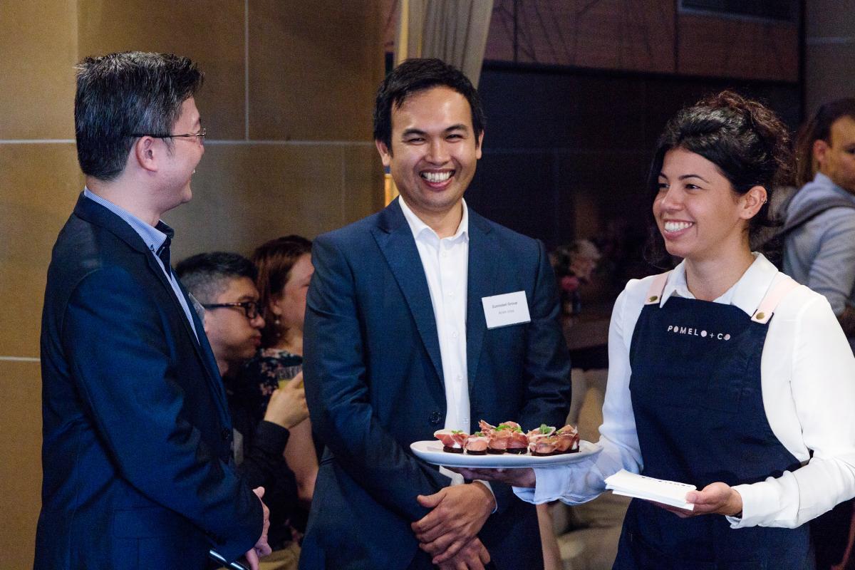 Corporate event photo in Sydney CBD